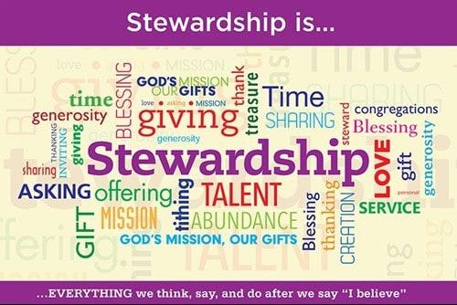 Stewardship Pledges 4